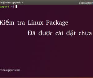 Cách kiểm tra package đã được cài đặt trên Linux