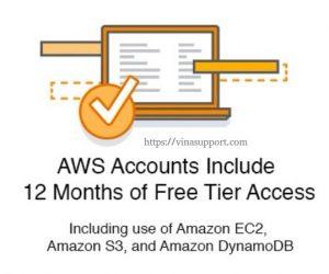 Những giới hạn sử dụng của tài khoản AWS Free Tier