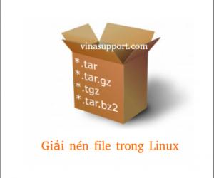 Cách giải nén một số định dạng file phổ biến trong Linux