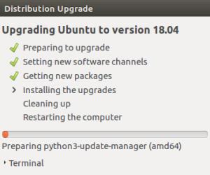 Hướng dẫn nâng cấp lên Ubuntu 18.04 LTS từ Ubuntu phiên bản 16.04 và 17.10