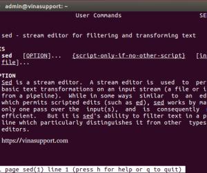Tìm và thay thế chuỗi ký tự trong một file sử dụng Sed Command trong Linux
