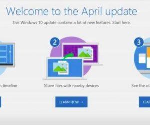Hướng dẫn nâng cấp lên phiên bản Windows 10 April Update 2018
