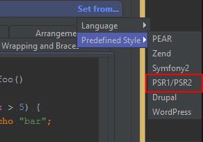 Hướng dẫn format code theo chuẩn PSR-2 cho PHPStorm