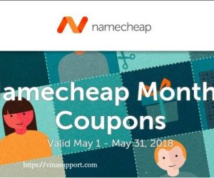 Namecheap Coupon – Tổng hợp khuyến mãi và mã giảm giá tháng 8/2019 cho tên miền và hosting