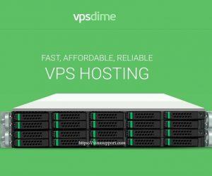 VPSDime – VPS Hosting cấu hình cao giá rẻ chỉ từ 7 USD/tháng