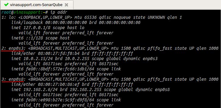 Cách thêm địa chỉ IP cho Linux Server - VinaSupport