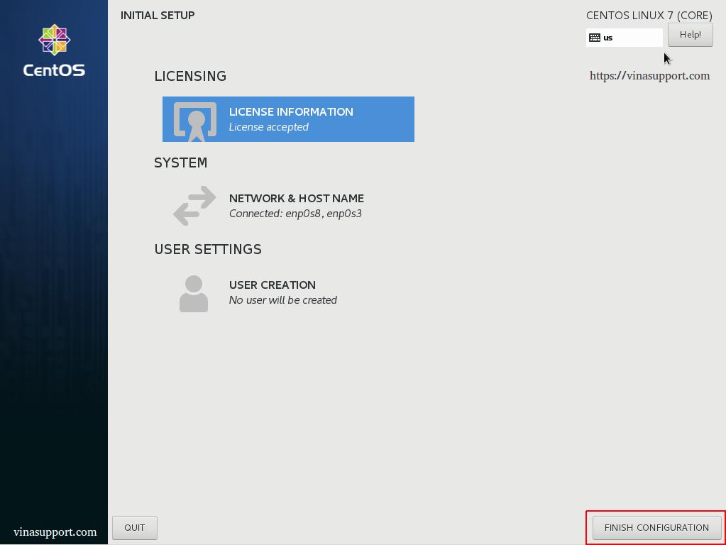 Cài đặt giao diện GNOME Desktop GUI cho Centos 7 / RHEL 7