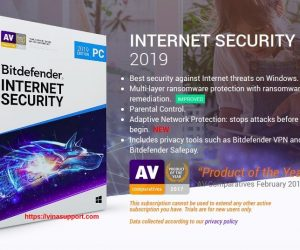 Bitdefender Internet Security 2019 – Tặng 6 tháng bản quyền miễn phí