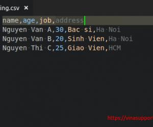 [Perl] Hướng dẫn đọc và ghi file CSV trong Perl 5