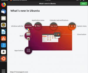 Những tính năng mới của Ubuntu 18.10Cosmic Cuttlefish