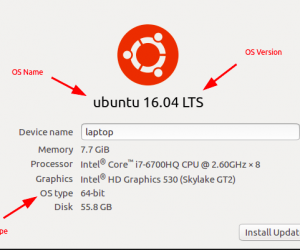 Cách kiểm tra thông tin của hệ điều hành Linux / Unix