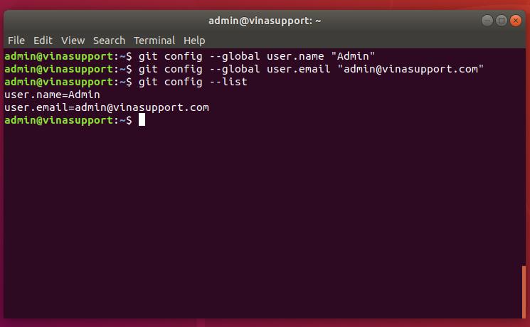Tìm kiếm và thay đổi GIT Username và Email khi commit
