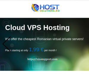 HostSolutions.ro – Offshore VPS giá rẻ – No DMCA & Cho phép Torrent