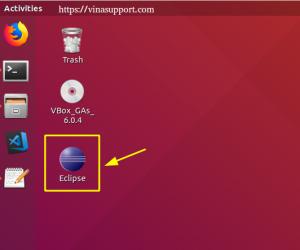 Tạo Shortcut Icon để chạy ứng dụng trên Ubuntu Desktop