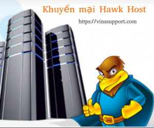 Hawk Host Coupon tháng 7/2019 – Giảm tới 40% Web Hosting