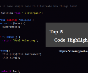 Top 5 thư viện Javascript Code Highlighter tốt nhất