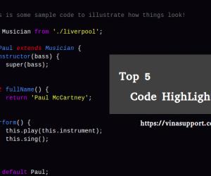 Top 5 thư viện Javascript Code Highlighter tốt nhất