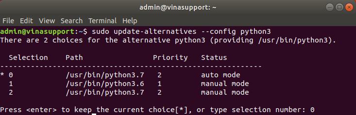 Hướng dẫn cài đặt Python 3 và pip 3 trên Ubuntu Linux - VinaSupport