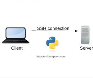 [Python 3] Kết nối SSH và chạy command trên Remote Linux Server