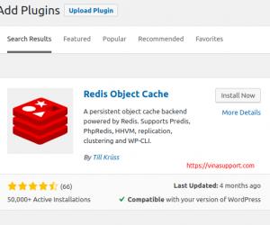 Sử dụng Redis cache cho blog WordPress