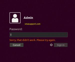 Đặt lại mật khẩu tài khoản khi lỡ quên trên Ubuntu 18.04