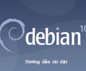 Hướng dẫn cài đặt HDH Debian 10 buster