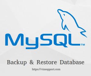 Giải pháp backup và khôi phục dữ liệu lớn cho MySQL & MariaDB