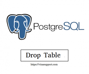 [PostgreSQL] Xóa bảng CSDL (Drop Table)