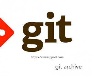 Export source code sử dụng Git Archive
