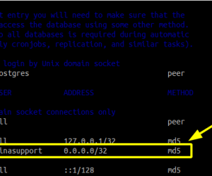 "Khắc phục lỗi ""no pg_hba.conf entry for host"" trên PostgreSQL"
