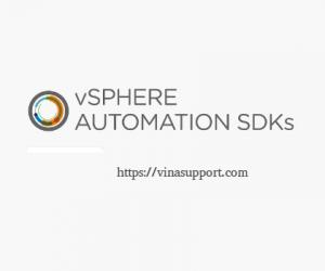 Quản lý máy ảo vCenter ESXi sử dụng vShere Python SDK