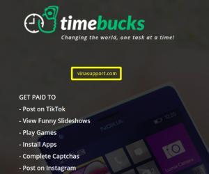 Hướng dẫn kiếm tiền thụ động với TimeBucks