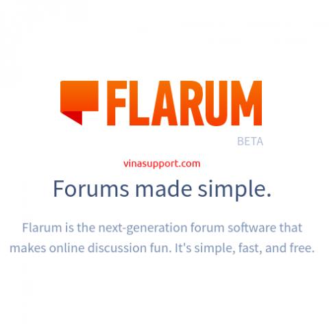 Hướng dẫn tạo diễn đàn (forum) với Flarum