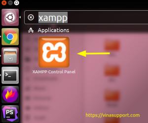 Hướng dẫn tạo Desktop Entry cho Xampp trên Ubuntu