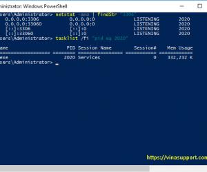 Kiểm tra 1 cổng (port) đang mở trên Windows