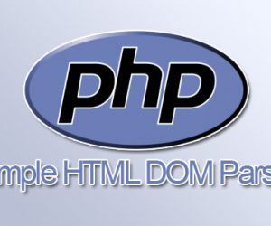 Sử dụng thư viện Simple HTML Dom với Laravel