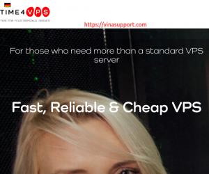 Time4VPS giảm giá 50% VPS Storage lưu trữ giá rẻ