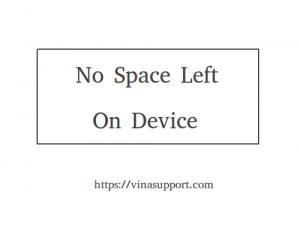 "Khắc phục lỗi ""No space left on device"" trên Linux"