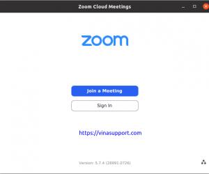 Hướng dẫn cài đặt Zoom – Họp video trực tuyến trên Ubuntu