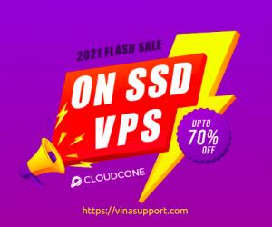 [Flash Sale] CloudCone giảm giá tới 70% Cloud VPS
