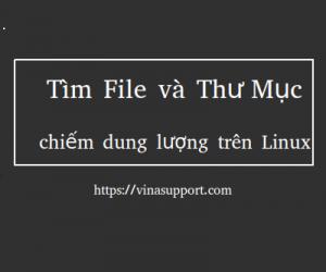 Tìm file và thư mục chiếm nhiều dung lượng trên Linux