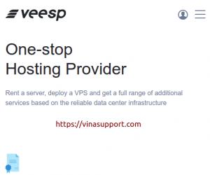 Veesp – Dịch vụ Offshore VPS chất lượng nhất 2021
