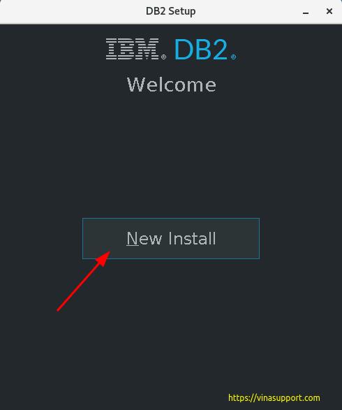 Cài đặt DB2 Express-C trên CentOS 7 Step 1