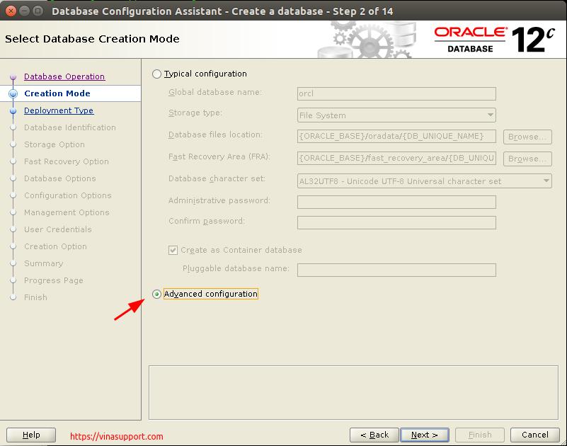 Huong dan cai dat Oracle Database 12c Tren CentOS 7.x - Buoc 25