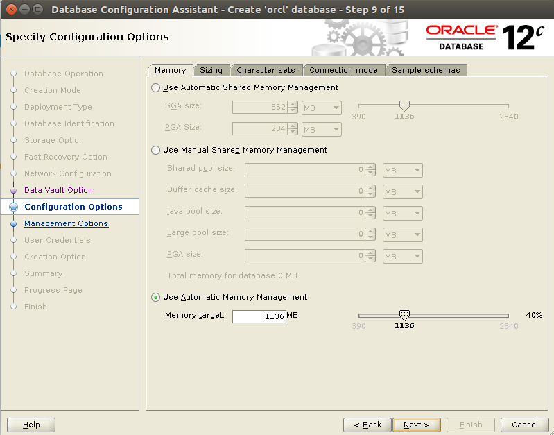 Huong dan cai dat Oracle Database 12c Tren CentOS 7.x - Buoc 32