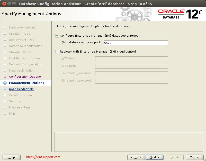 Huong dan cai dat Oracle Database 12c Tren CentOS 7.x - Buoc 33
