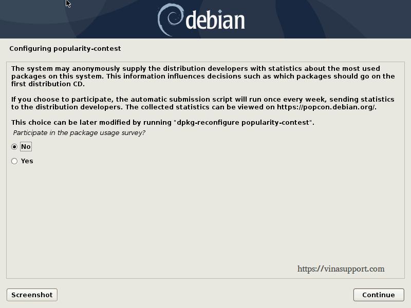Huong dan cai dat Debian 10 - Buoc 21