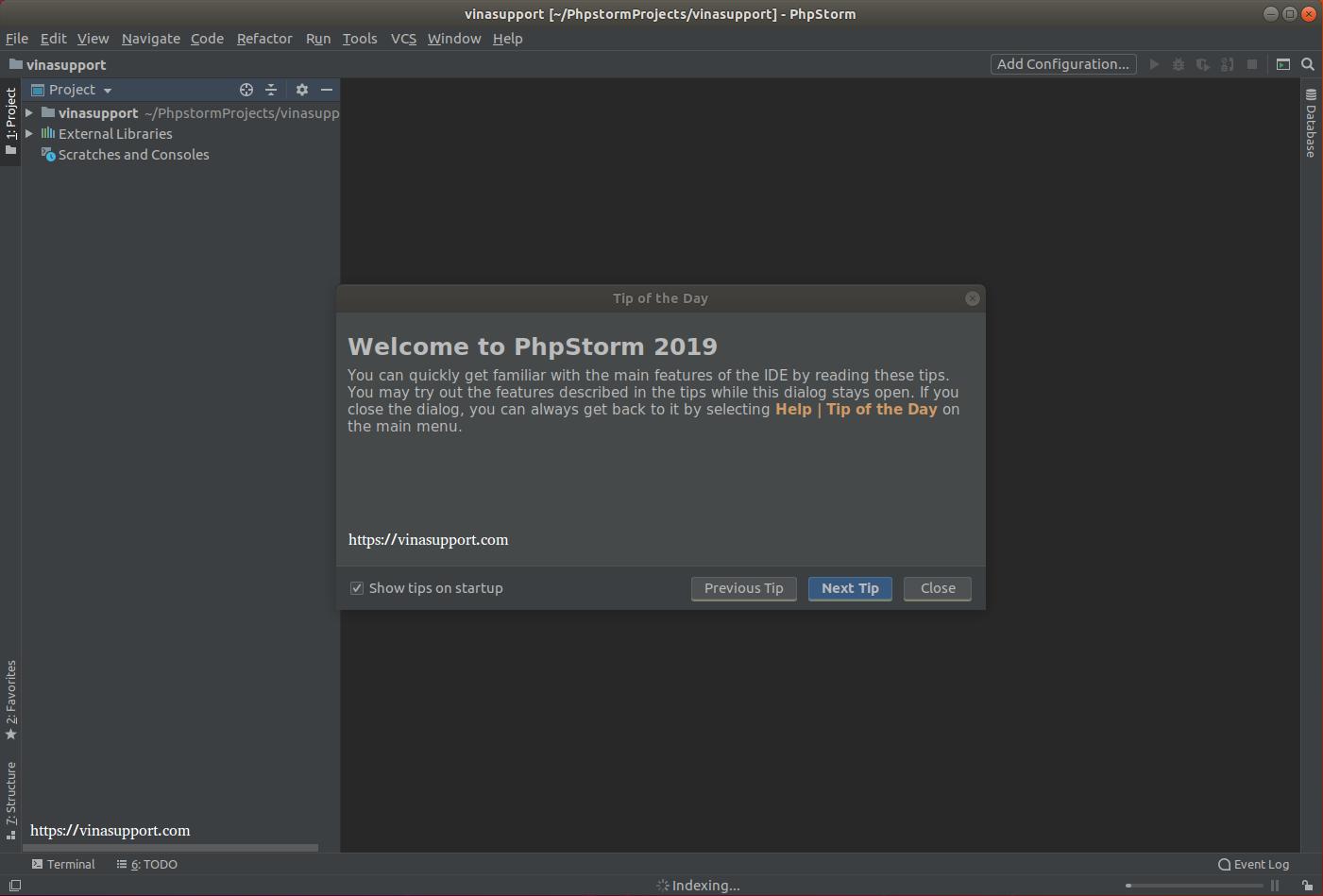 Huong dan cai dat PhpStorm IDE tren Ubuntu Step 12