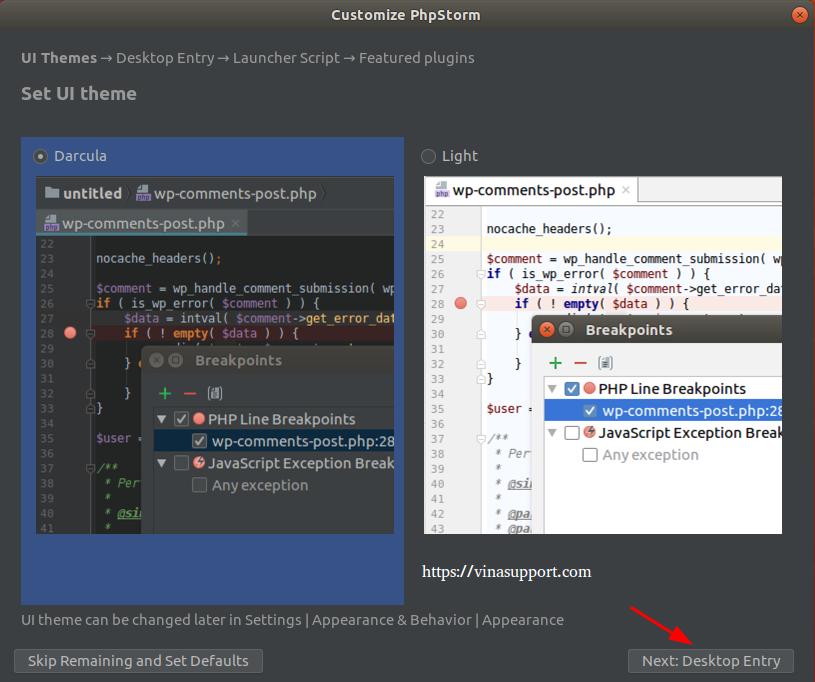 Huong dan cai dat PhpStorm IDE tren Ubuntu Step 4