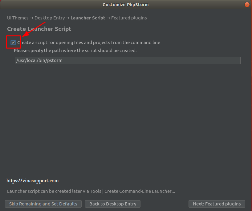 Huong dan cai dat PhpStorm IDE tren Ubuntu Step 6